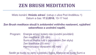 ZEN BRUSH MEDITATION